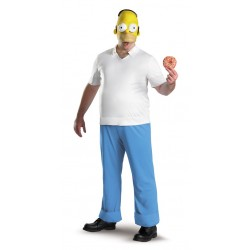 Fantasia Masculina Homer Os Simpsons Festa Halloween