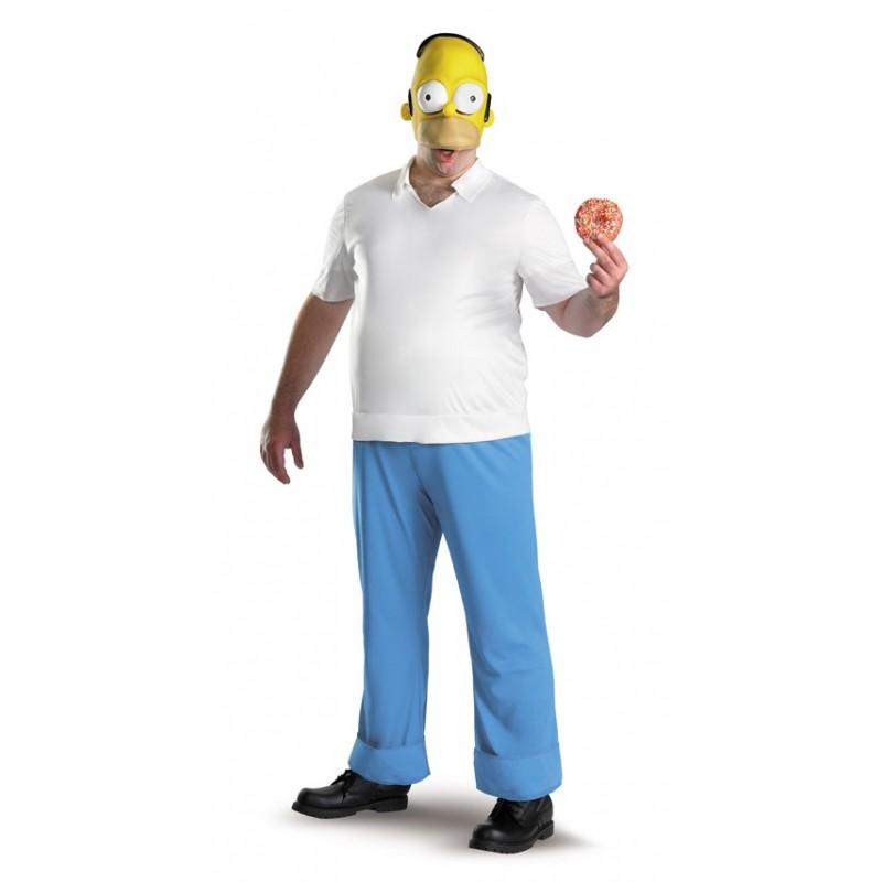 Fantasia Masculina Homer Os Simpsons Festa Halloween