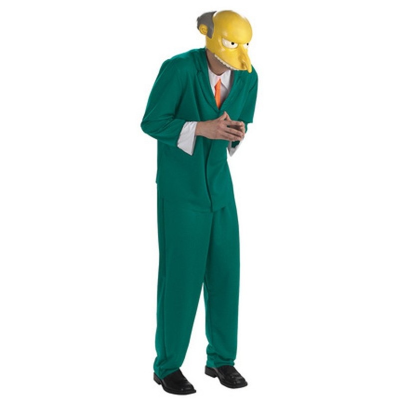 Fantasia Masculina Senhor Burns Os Simpsons Festa Halloween