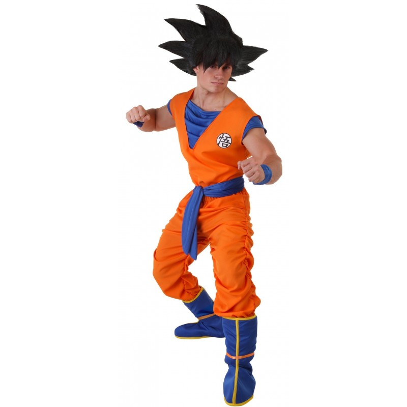Fantasia Adulto Goku Dragon Ball Z Festa Halloween