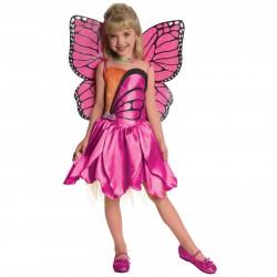 Fantasia Infantil Barbie Borboleta Meninas Festa Halloween