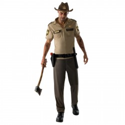 Fantasia Masculina Rick Grimes The Walking Dead festa Halloween