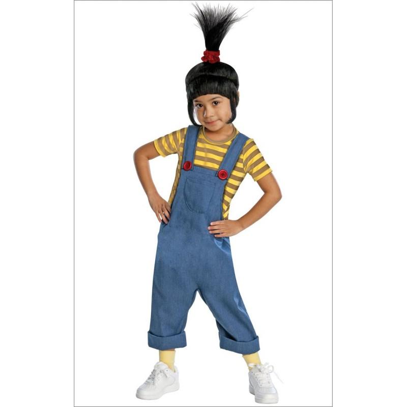 Fantasia Infantil Agnes Minions Festa Halloween