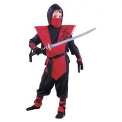 Fantasia Infantil Meninos Ninja Festa Halloween