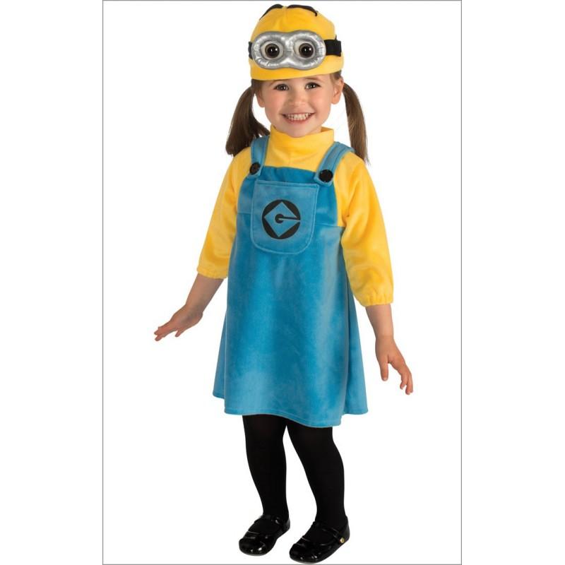 Fantasia Infantil Minions Festa Halloween
