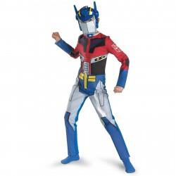 Fantasia Infantil Optimus Prime Transformers Meninos Festa Halloween