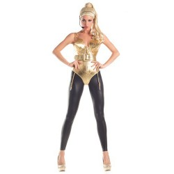 Fantasia Feminina Madonna Festa Halloween