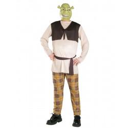 Fantasia Masculina Shrek Adulto Festa Halloween