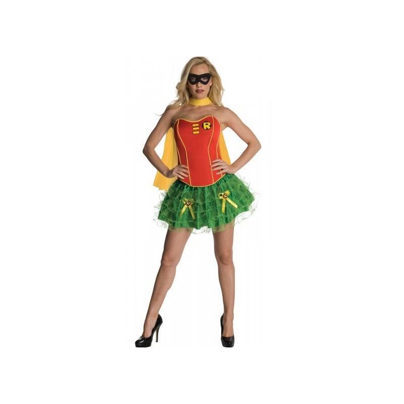 Fantasia Feminina Robin Festa Halloween