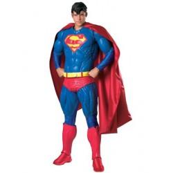 Fantasia Masculina Supermen Super-Homem Luxo Festa