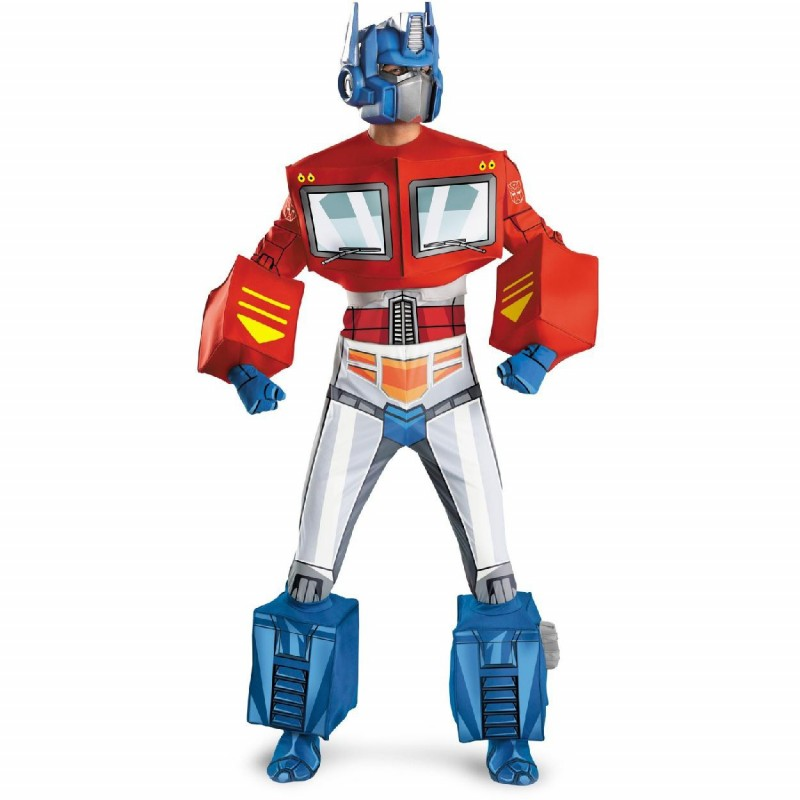Fantasia Masculina Optimus Prime Transformers Festa Halloween