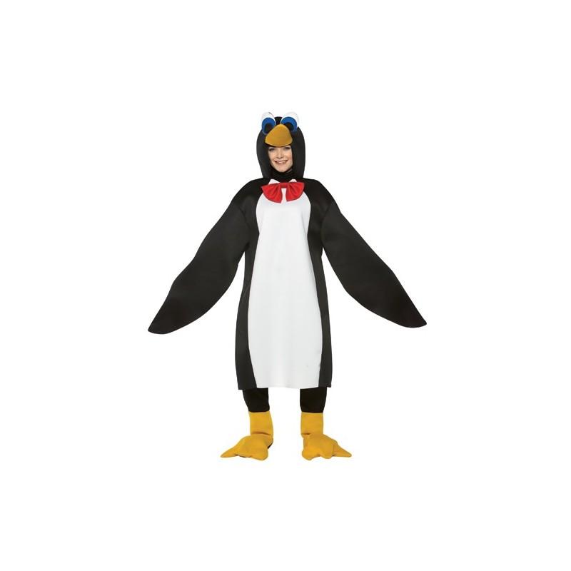Fantasia Adulto Unissex Pinguim Traje para Festa a Fantasia