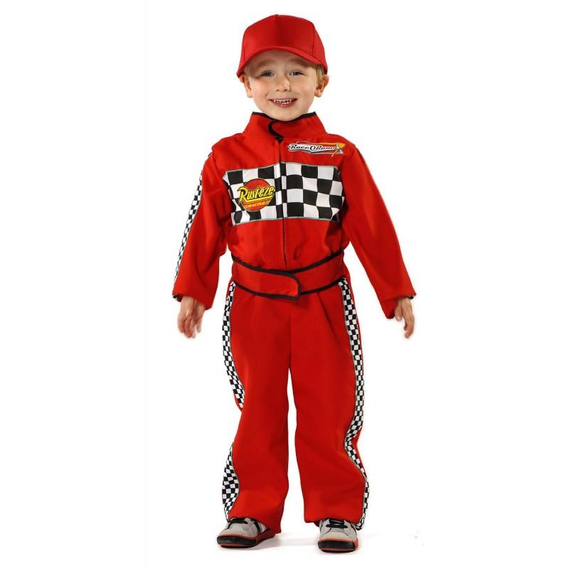 Fantasia Infantil Piloto Fórmula 1 Traje para Festa a Fantasia
