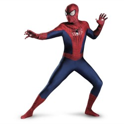Fantasia Masculina Homem Aranha Spider Man Traje para Festa a Fantasia