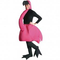 Flamingo Traje Unissex Adulto para Festa a Fantasia Halloween
