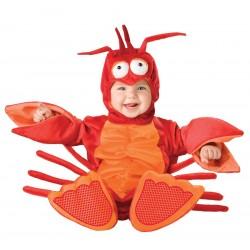 Lagosta Traje Infantil Bebês para Festa a Fantasia Halloween