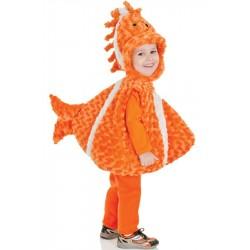 Peixe Palhaço Nemo Traje Infantil para Festa a Fantasia Halloween