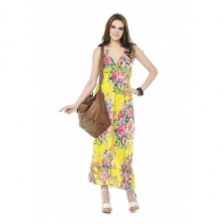 Vestido Estampado Verão