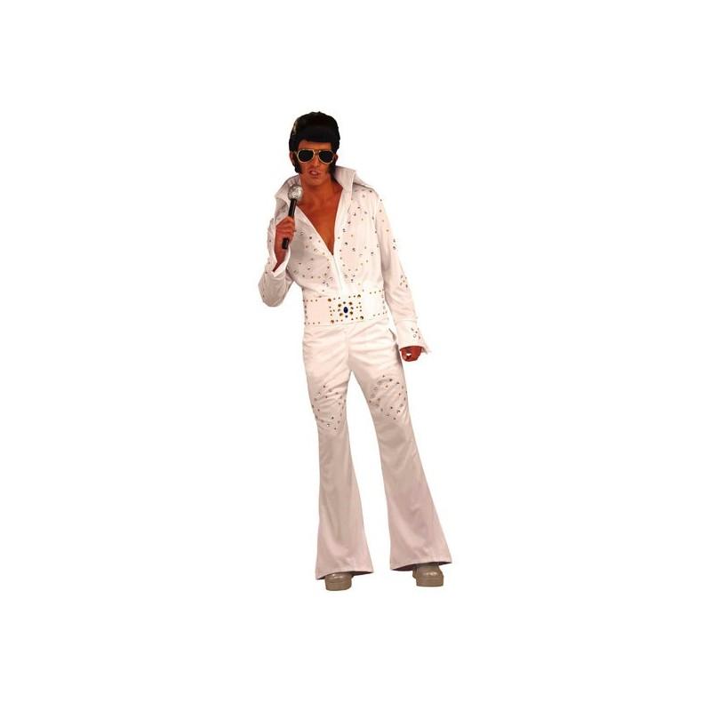 Elvis Presley Las Vegas Adulto Masculino Festa a Fantasia Halloween Carnaval