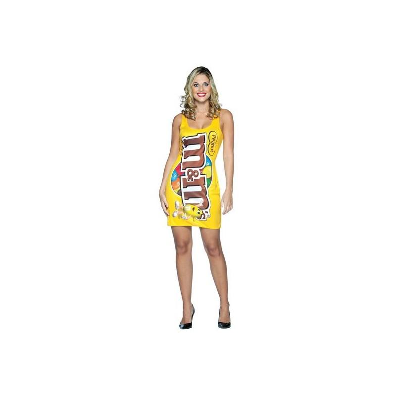 Pacote de M&M Traje Feminino para Festa a Fantasia Halloween