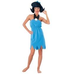 Betty Os Flintstones Fantasia Feminina Halloween Carnaval Festa a Fantasia
