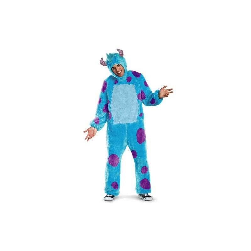 Sully Monstros SA Universidade Monstros Fantasia Masculina Halloween Carnaval Festa a Fantasia