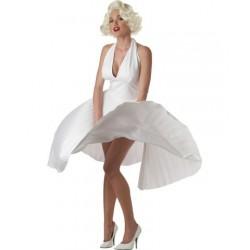 Fantasia Feminina Marilyn Monroe Festa a Fantasia Halloween Carnaval