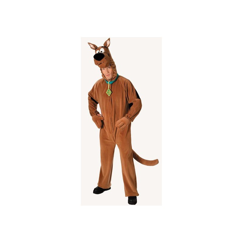 Scooby Doo Traje Masculino para Festa a Fantasia Halloween