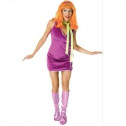 Daphne Scooby Doo Fantasia Feminina Halloween Carnaval