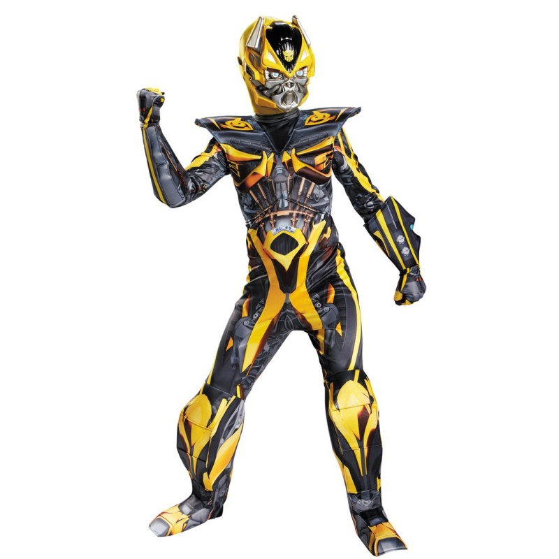 Bumblebee Transformers Fantasia Infantil Meninos Festa a Fantasia Carnaval Halloween