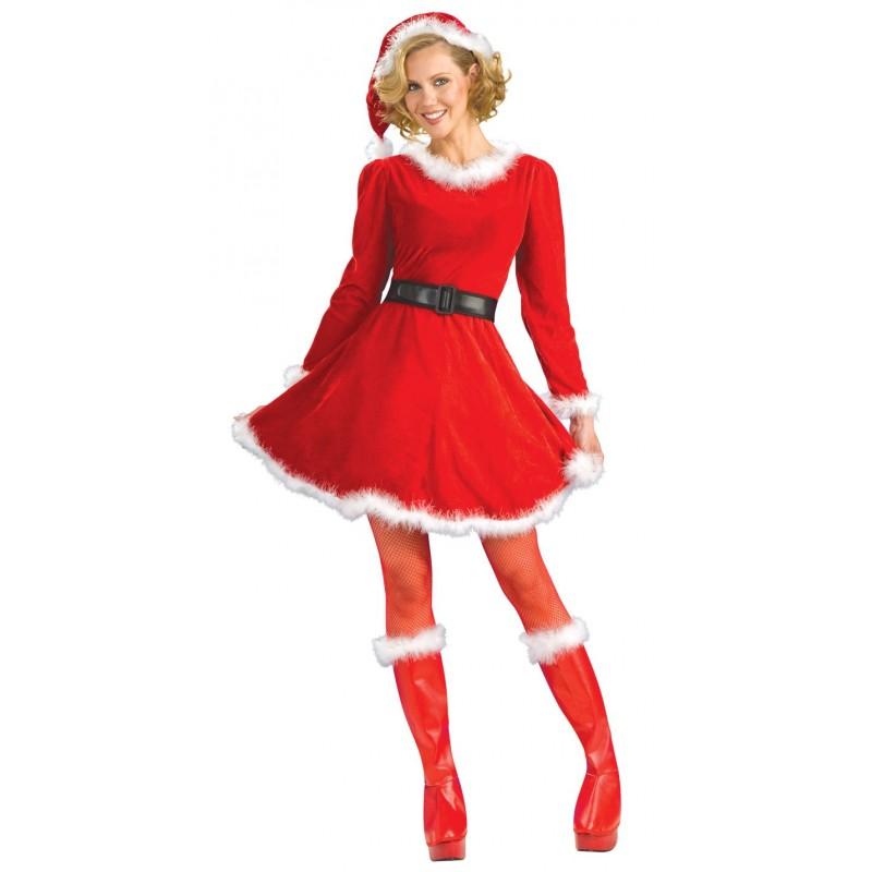 Mamãe Noel Fantasia Feminina de Natal