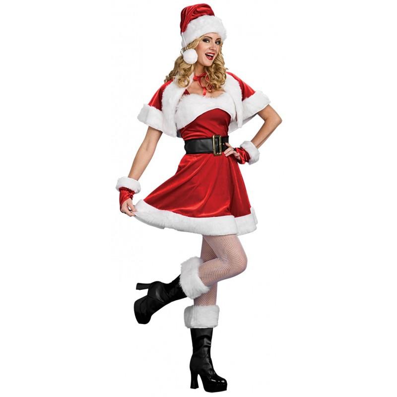 Mamãe Noel Fantasia Feminina de NatalMamãe Noel Fantasia Feminina Especial para o Natal