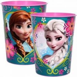 Copinho Elsa para Festa Infantil Tema Frozen 24un