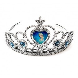 Coroa de Princesa para Festa Infantil Elsa Frozen 10un