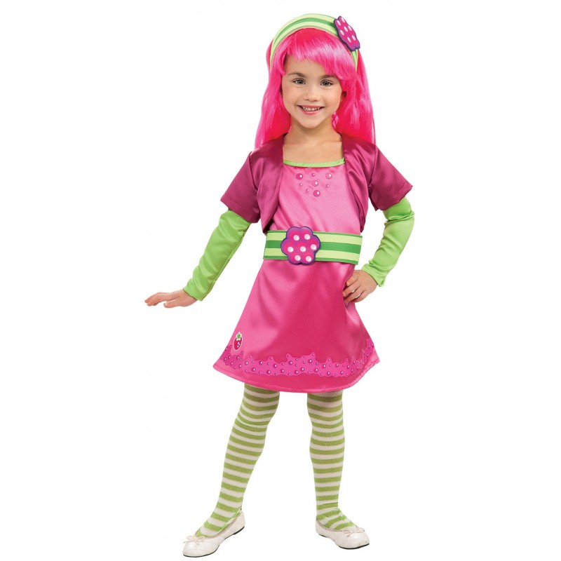Moranguinho Fantasia Infantil Meninas Halloween Carnaval