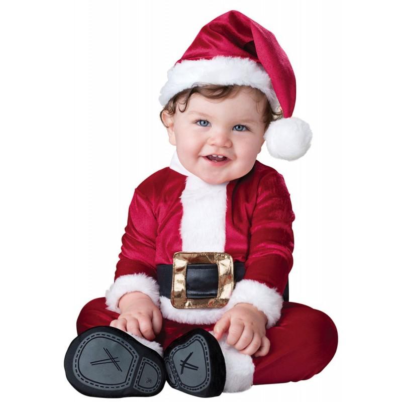 Papai Noel Baby Fantasia Infantil Bebês Especial Natal