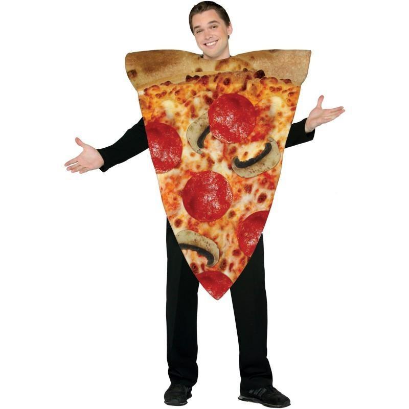 Pizza Fantasia Adulto Festa a Fantasia Halloween Carnaval