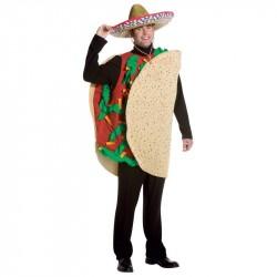 Taco Mexicano Fantasia Masculina Halloween Carnaval Festa a Fantasia