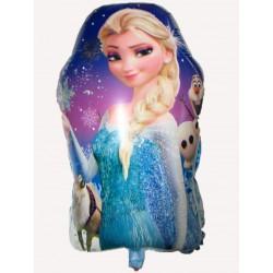 Balão Grande Elsa Frozen Decoração de Festa de Aniversário Infantil 5un