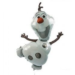 Balão Grande Olaf Frozen Decoração de Festa de Aniversário Infantil 1un