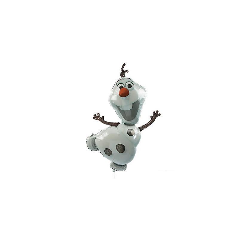 Balão Grande Olaf Frozen Decoração de Festa de Aniversário Infantil