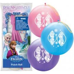 Balões Bexigas Redondas Frozen para Decoração de Festa de Aniversário Infantil 24un