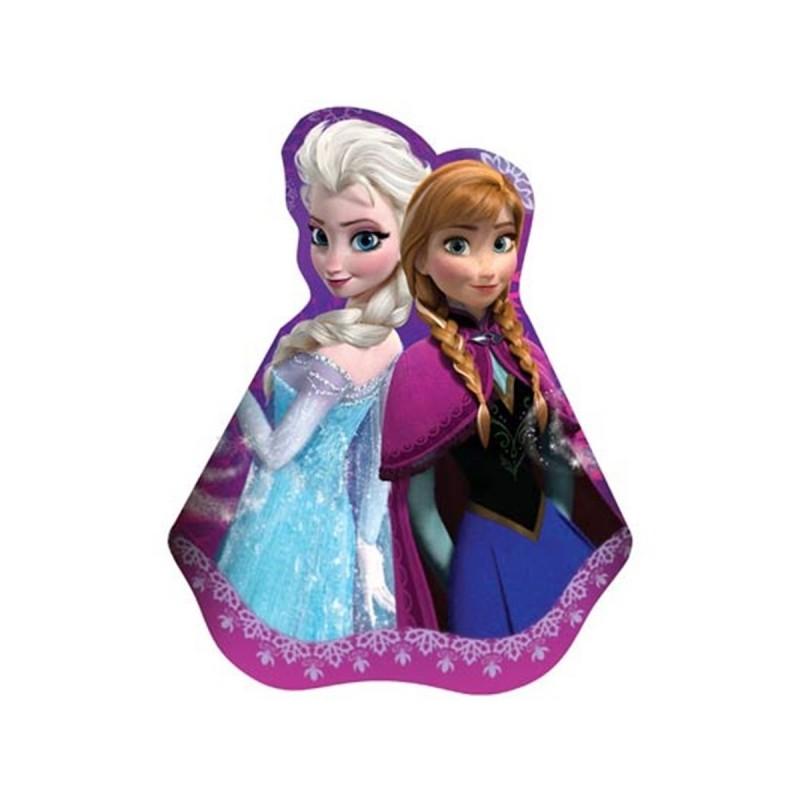 Chapeuzinho Frozen para Festa de Aniversário Infantil Rosa 24un