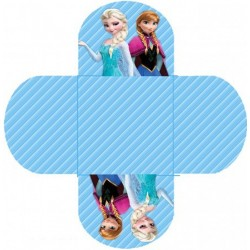 Embalagem para Docinho Frozen Festa de Aniversário Infantil 24un