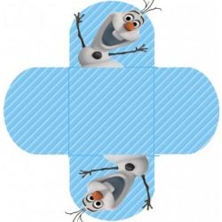 Embalagem para Docinho Frozen para Festa de Aniversário Infantil