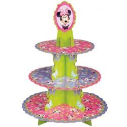 Suporte para Cupcake e Doces Minnie Festa de Aniversário Infantil