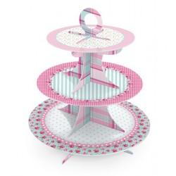 Suporte para Cupcake Festa de Aniversário Infantil Meninas