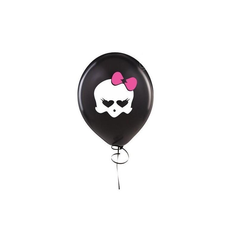 Balão Monster High Caveira 25un Festa Infantil Meninas