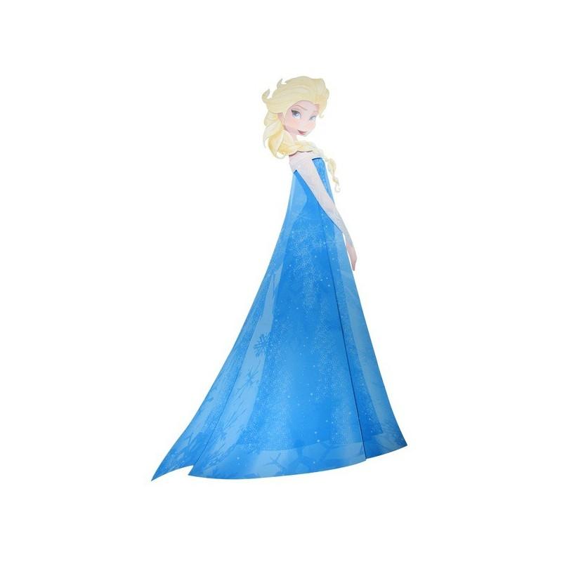 Painel Elsa Frozen para Decoração de Festa Infantil 88cm x 68cm