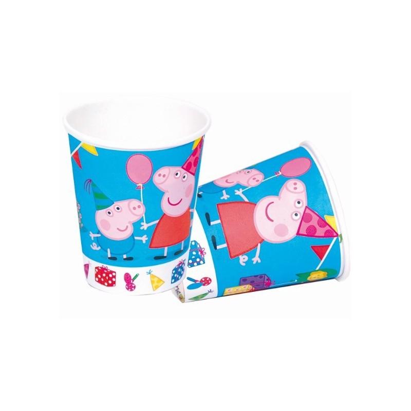 Copos Descartáveis Peppa Pig 24un para Festa Infantil